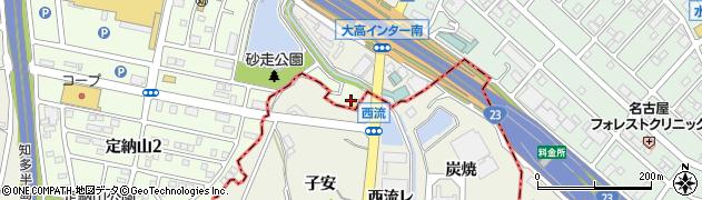 愛知県名古屋市緑区大高町(蛇池下)周辺の地図