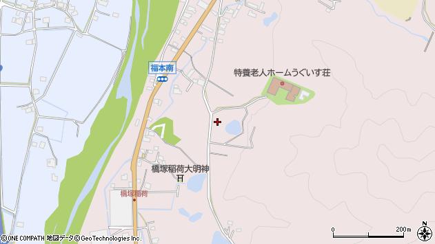 〒679-2415 兵庫県神崎郡神河町福本の地図