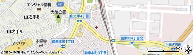 サントス周辺の地図