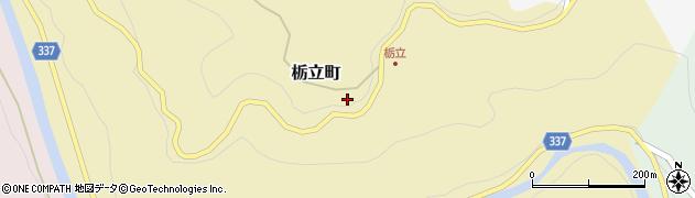 愛知県豊田市栃立町(丸山)周辺の地図