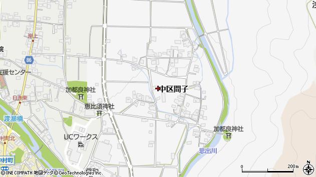 〒679-1112 兵庫県多可郡多可町中区間子の地図