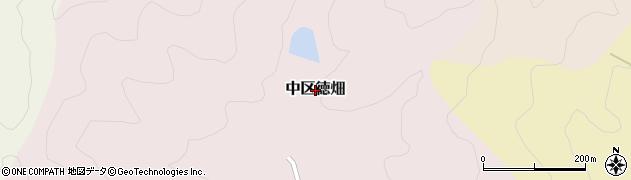 兵庫県多可町(多可郡)中区徳畑周辺の地図