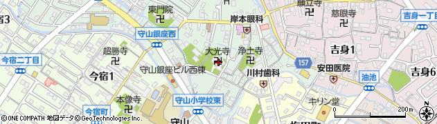 大光寺周辺の地図