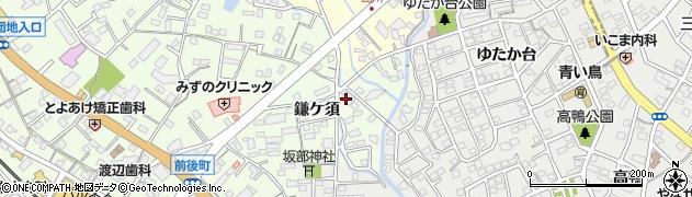 寿司栄周辺の地図