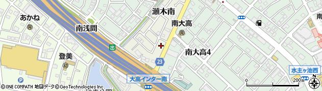愛知県名古屋市緑区大高町(北炭焼)周辺の地図