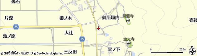 京都府亀岡市千歳町千歳(大辻)周辺の地図