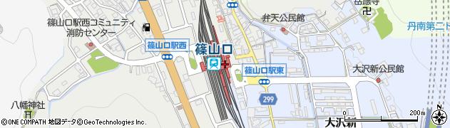 丹波篠山観光ステーション周辺の地図