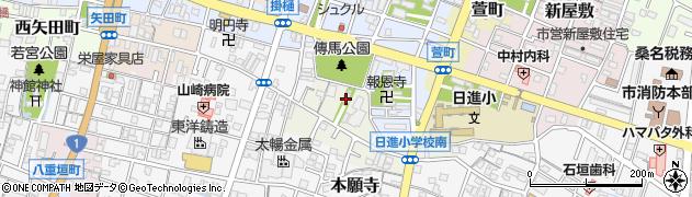 天武天皇社周辺の地図