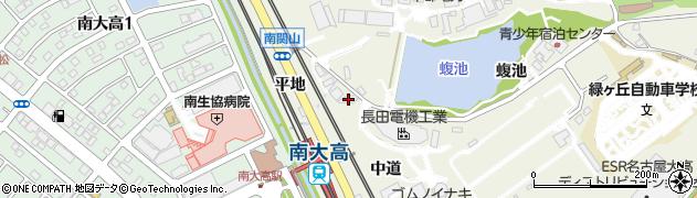 愛知県名古屋市緑区大高町(中道)周辺の地図