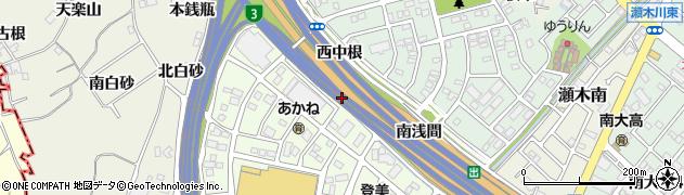 愛知県名古屋市緑区大高町(茶ノ木根)周辺の地図