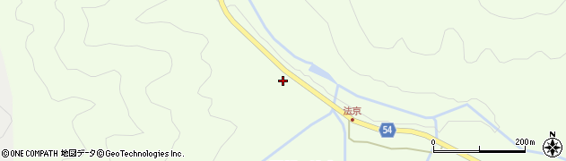 京都府南丹市園部町法京(蔵垣内)周辺の地図