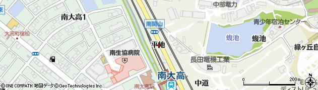愛知県名古屋市緑区大高町(平地)周辺の地図