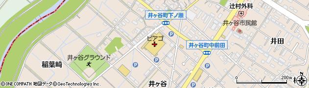 寿司御殿井ケ谷店周辺の地図