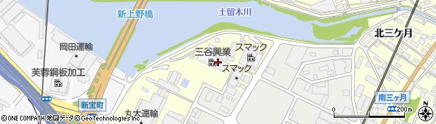 愛知県東海市名和町(一ノ下)周辺の地図