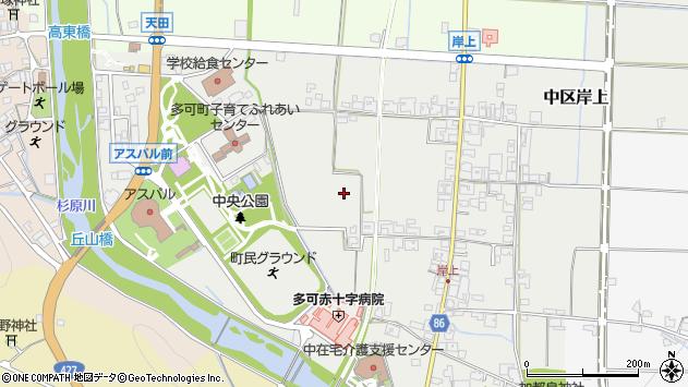 〒679-1114 兵庫県多可郡多可町中区岸上の地図