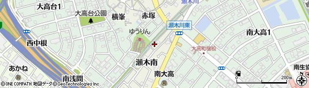 愛知県名古屋市緑区大高町(洞之腰)周辺の地図