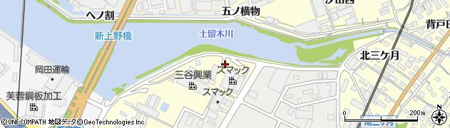愛知県東海市名和町(天王前)周辺の地図