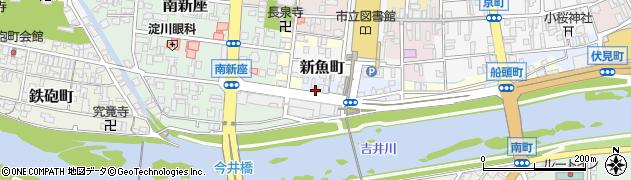 岡山県津山市吹屋町周辺の地図