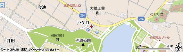 愛知県刈谷市井ケ谷町(戸ケ口)周辺の地図