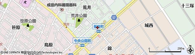 焼肉飯店長春 豊明店周辺の地図