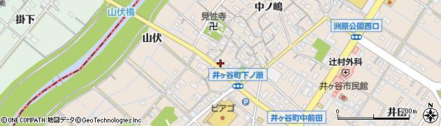 愛知県刈谷市井ケ谷町(下ノ瀬)周辺の地図