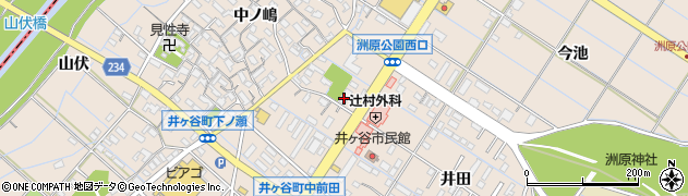 愛知県刈谷市井ケ谷町(桜島)周辺の地図