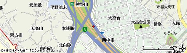愛知県名古屋市緑区大高町(北銭瓶)周辺の地図