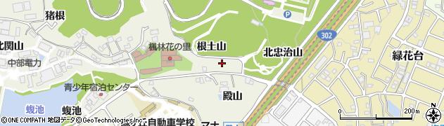 愛知県名古屋市緑区大高町(根土山)周辺の地図