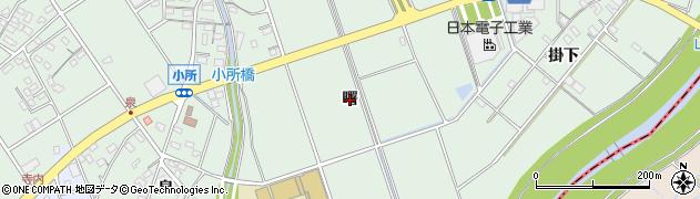 愛知県豊明市沓掛町(曙)周辺の地図
