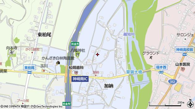 〒679-2421 兵庫県神崎郡神河町加納の地図