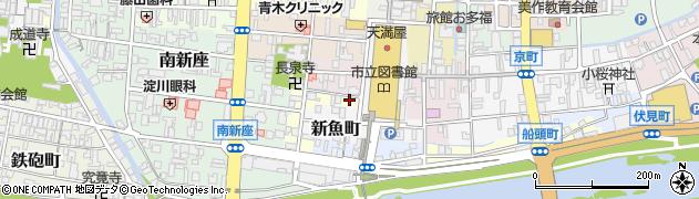 八頭神社周辺の地図