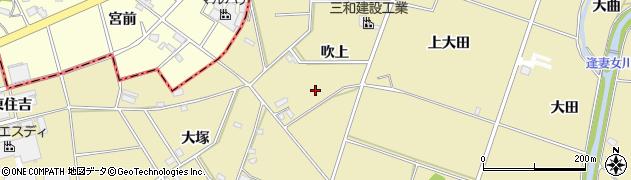愛知県豊田市堤町(吹上)周辺の地図