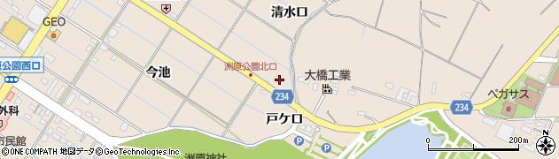 愛知県刈谷市井ケ谷町(清水口)周辺の地図
