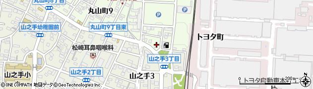 神戸屋丸山店周辺の地図
