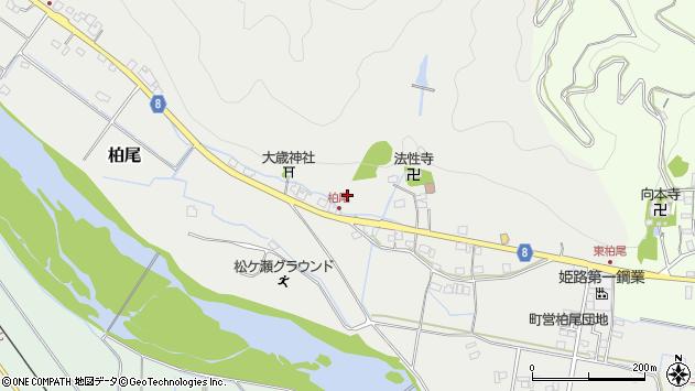 〒679-2424 兵庫県神崎郡神河町柏尾の地図