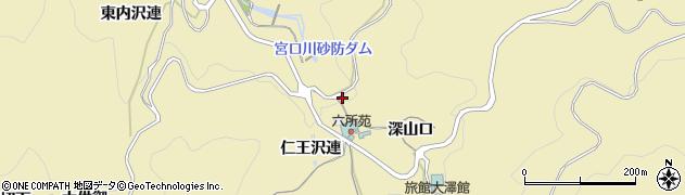 愛知県豊田市坂上町(猿戸)周辺の地図
