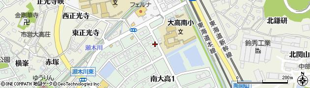 愛知県名古屋市緑区大高町(下瀬木)周辺の地図