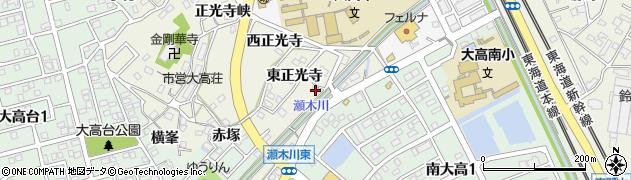 愛知県名古屋市緑区大高町(上瀬木川西)周辺の地図