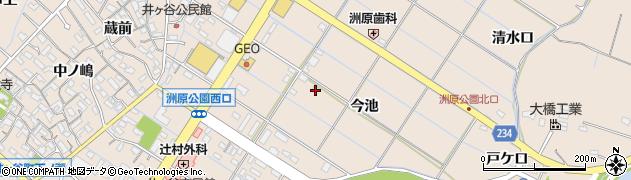 愛知県刈谷市井ケ谷町(今池)周辺の地図