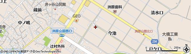 愛知県刈谷市井ケ谷町周辺の地図