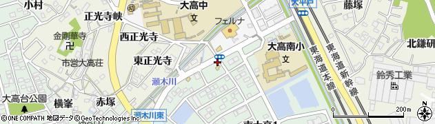 ほだか周辺の地図