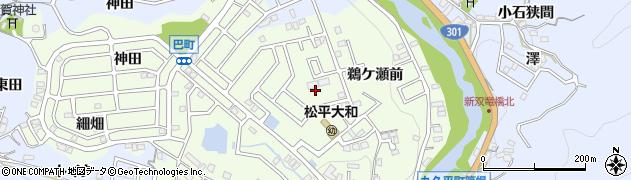 愛知県豊田市岩倉町(柿田)周辺の地図