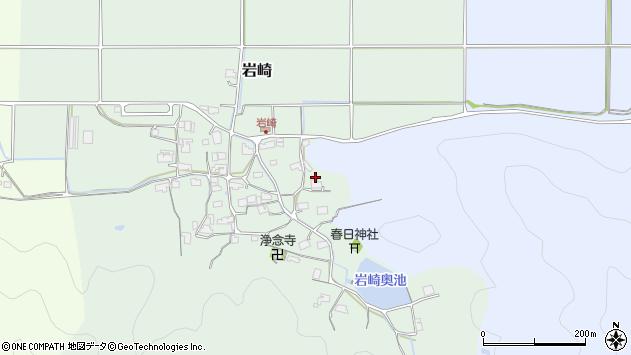 〒669-2454 兵庫県丹波篠山市岩崎の地図