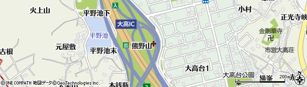 愛知県名古屋市緑区大高町(馬ノ背)周辺の地図