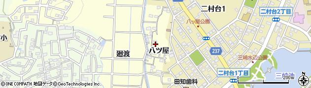 愛知県豊明市間米町(八ツ屋)周辺の地図