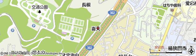 愛知県名古屋市緑区大高町(崙天)周辺の地図