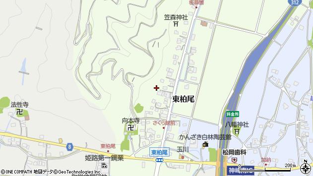 〒679-2425 兵庫県神崎郡神河町東柏尾の地図