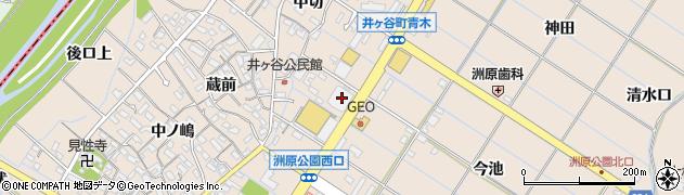 愛知県刈谷市井ケ谷町(前田)周辺の地図