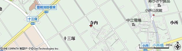 愛知県豊明市沓掛町(寺内)周辺の地図