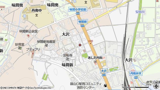 〒669-2213 兵庫県丹波篠山市中野の地図